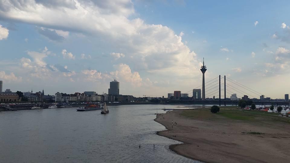 2016 August studio M atelier Düsseldorf Rhein