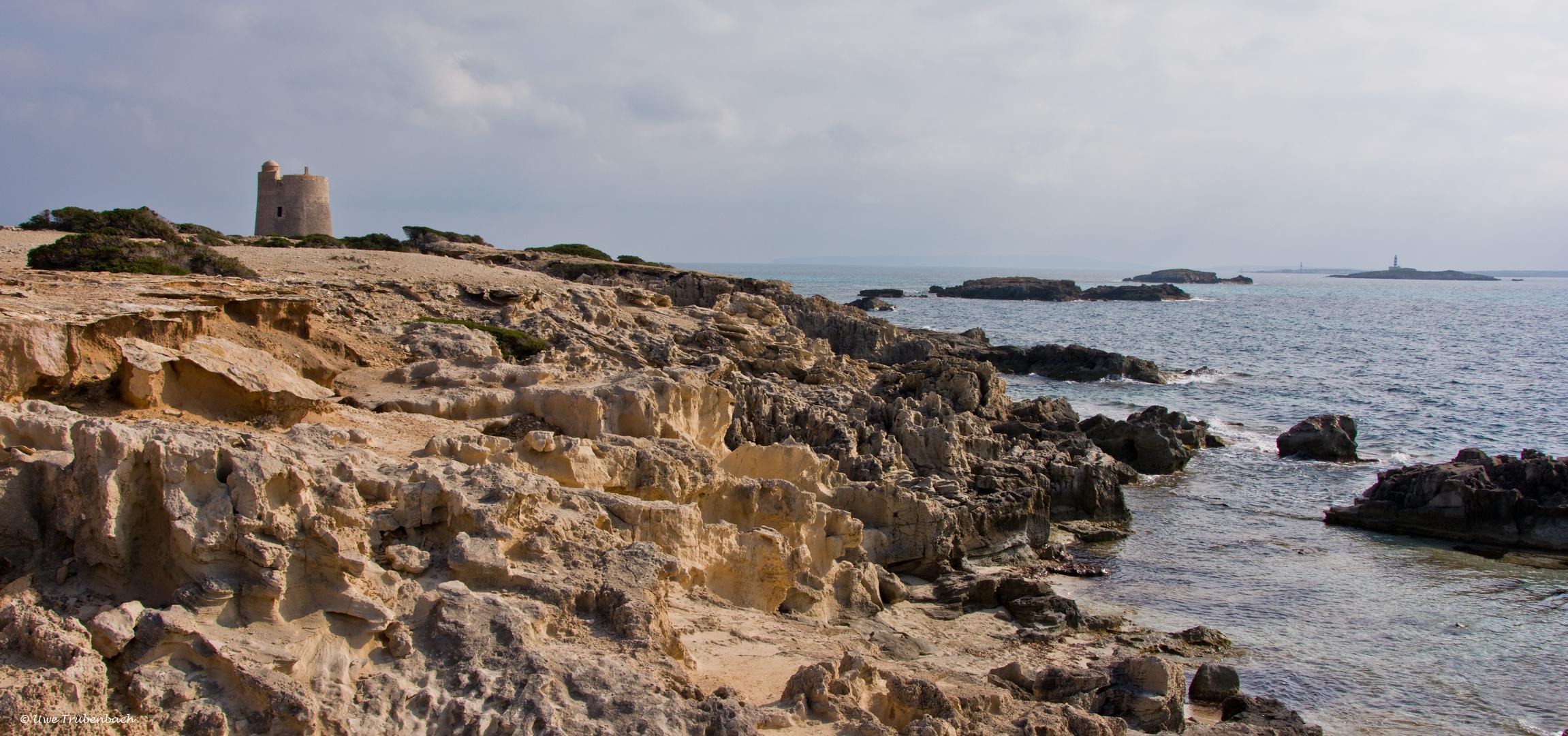 2020-02-08 Ibiza / die Meerenge zwischen Ibiza und Formentera