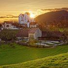 20210327_Sunset_Schloss_Wildegg