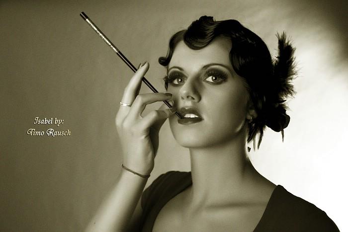 20er jahre foto bild fashion make up hairstyling. Black Bedroom Furniture Sets. Home Design Ideas