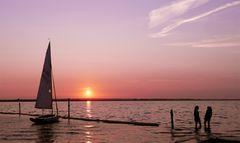 21:21 Uhr am Dümmer-See