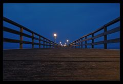 21.38 h Seebrücke Grömitz