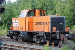 214 020 von BBL-Logistik vor ihrem Crash