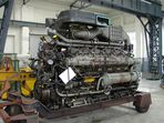 218 Motor im ausgebauten zustand im....