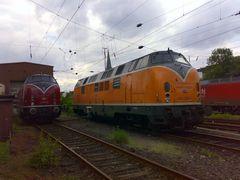 221 135 & 221 116 in Oberhausen Osterfeld
