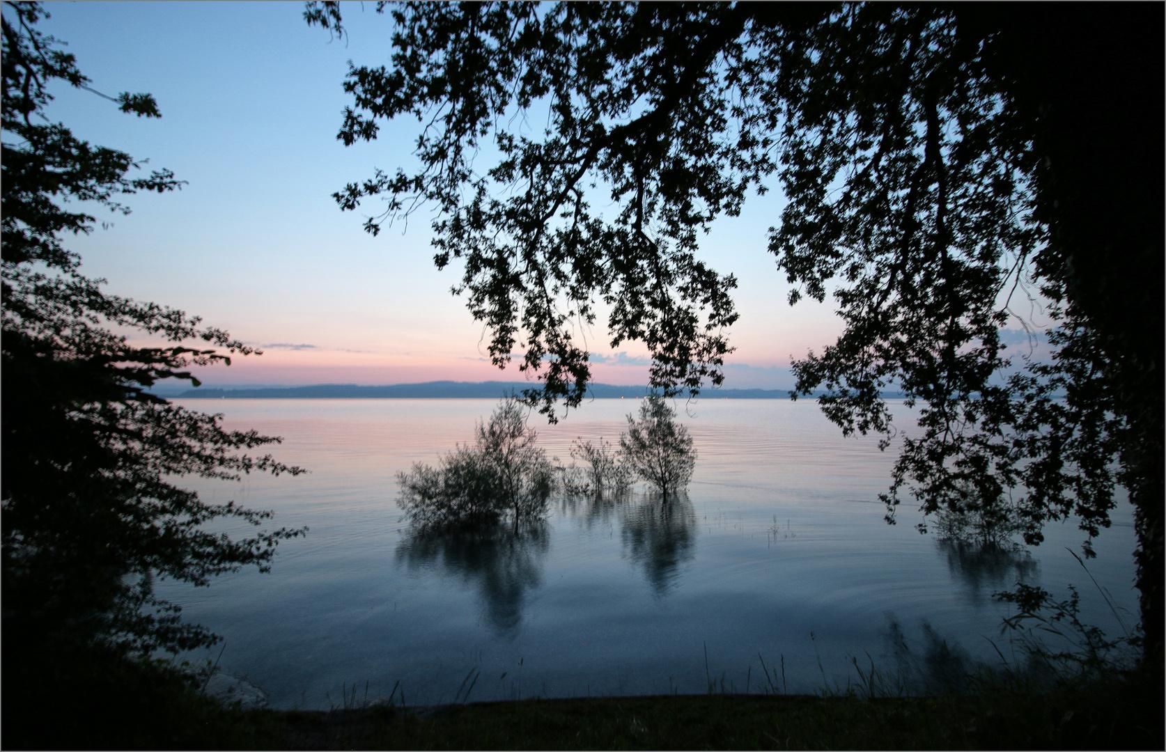 23. Juli, morgens um 5.20 Uhr am Wasserwerk in Konstanz