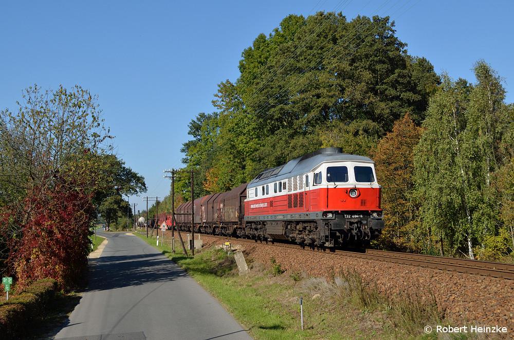 232 484 mit dem 45473 nach Polen bei Horka Pbf am 03.10.2013