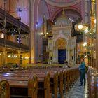 2363M jüdische Synagoge Budapest Ungarn innen