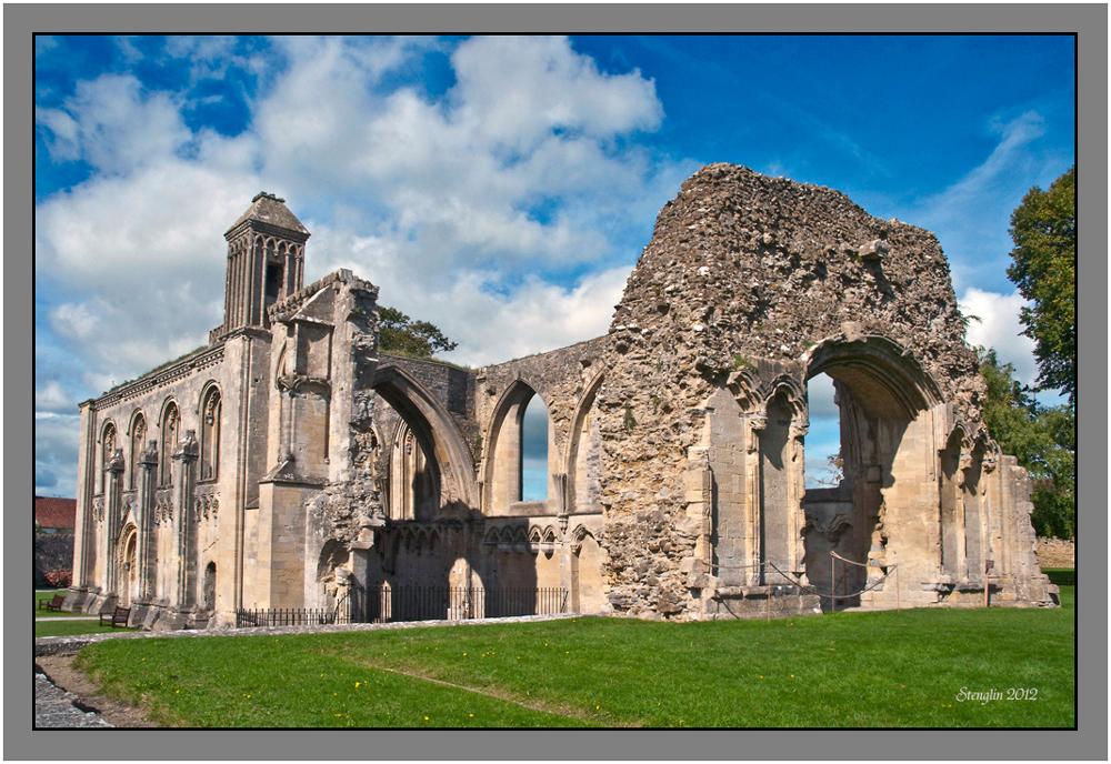 24-12  Cornwall(24) Glastonbury Abbey-2