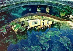 254    reflet dans lavoir de la fosse dionne à Tonnere