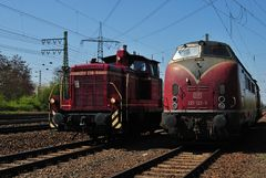 260 239 und 221 122 in Koblenz Lützel