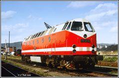 27. April 1983 Planbetrieb in Saalfeld heute vor 35 Jahren