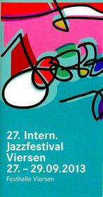 27. Int. Jazzfestival Viersen 2013