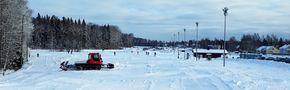 Helsinki, Paloheinä skiing area by Raimo Ketolainen