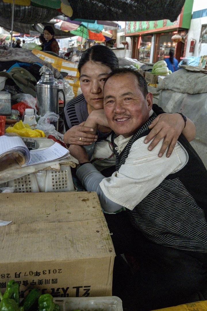 273 - Gyantse (Tibet) - Market