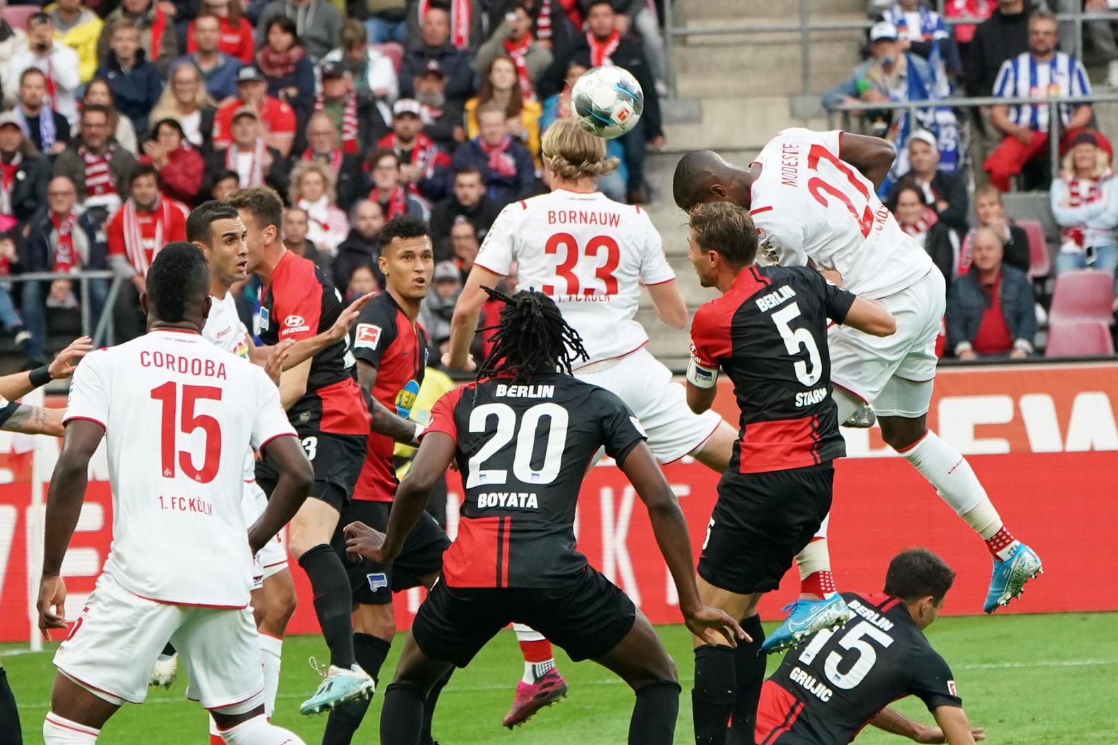 29 09 2019 Rheinenergiestadion Koln Ger 1 Fbl 1 Fc Koln Vs Hertha Bsc Berlin Foto Bild Sport Ballsport Fussball Bilder Auf Fotocommunity