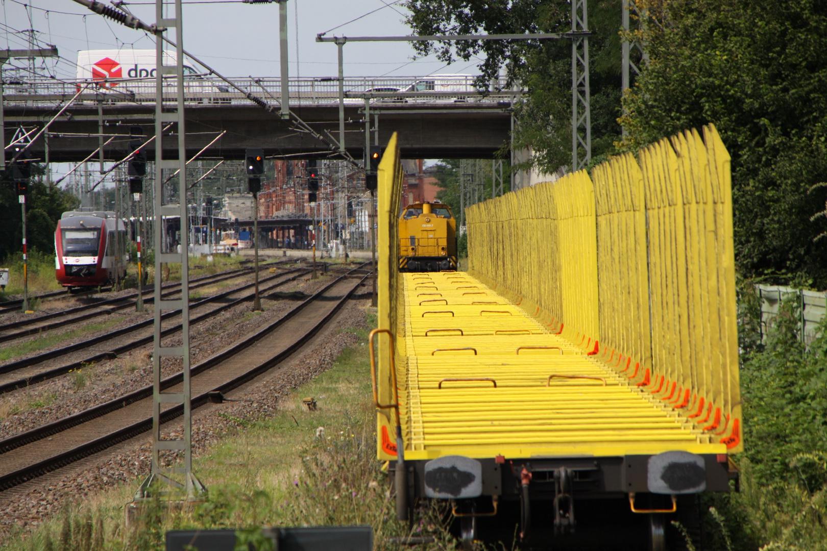 293 009-7 und HANS in Stendal