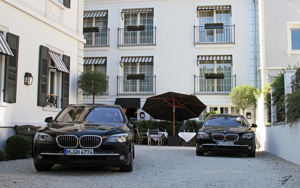 2x BMW 750iL in Heidelberg