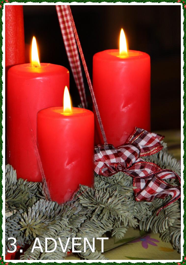 3 advent foto bild motive weihnachten kerzen bilder. Black Bedroom Furniture Sets. Home Design Ideas