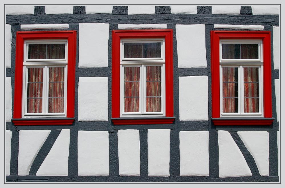 Beliebt 3 Fenster Foto & Bild | architektur, profanbauten, fachwerkhäuser AW18