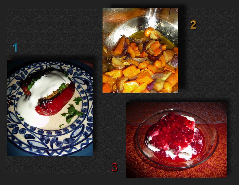 3 Gänge vegetarisch