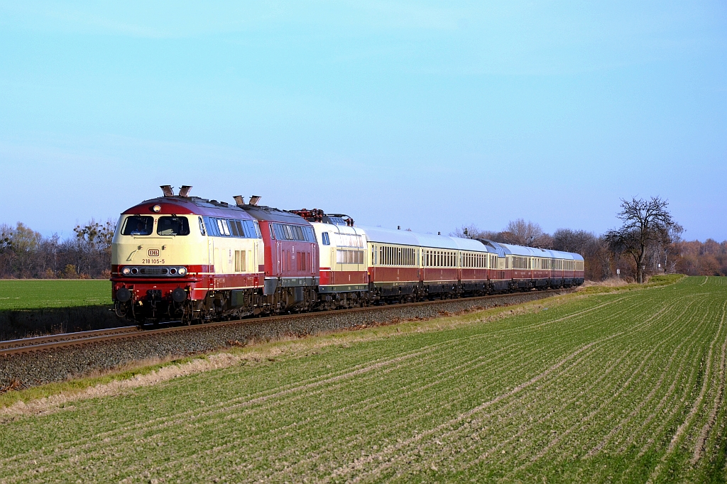 3 Klassiker an einem Zug