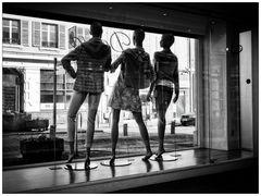 3 mannequins en week-end