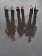 3 paar Schuhe