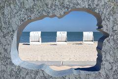 3 Strandkörbe auf Föhr