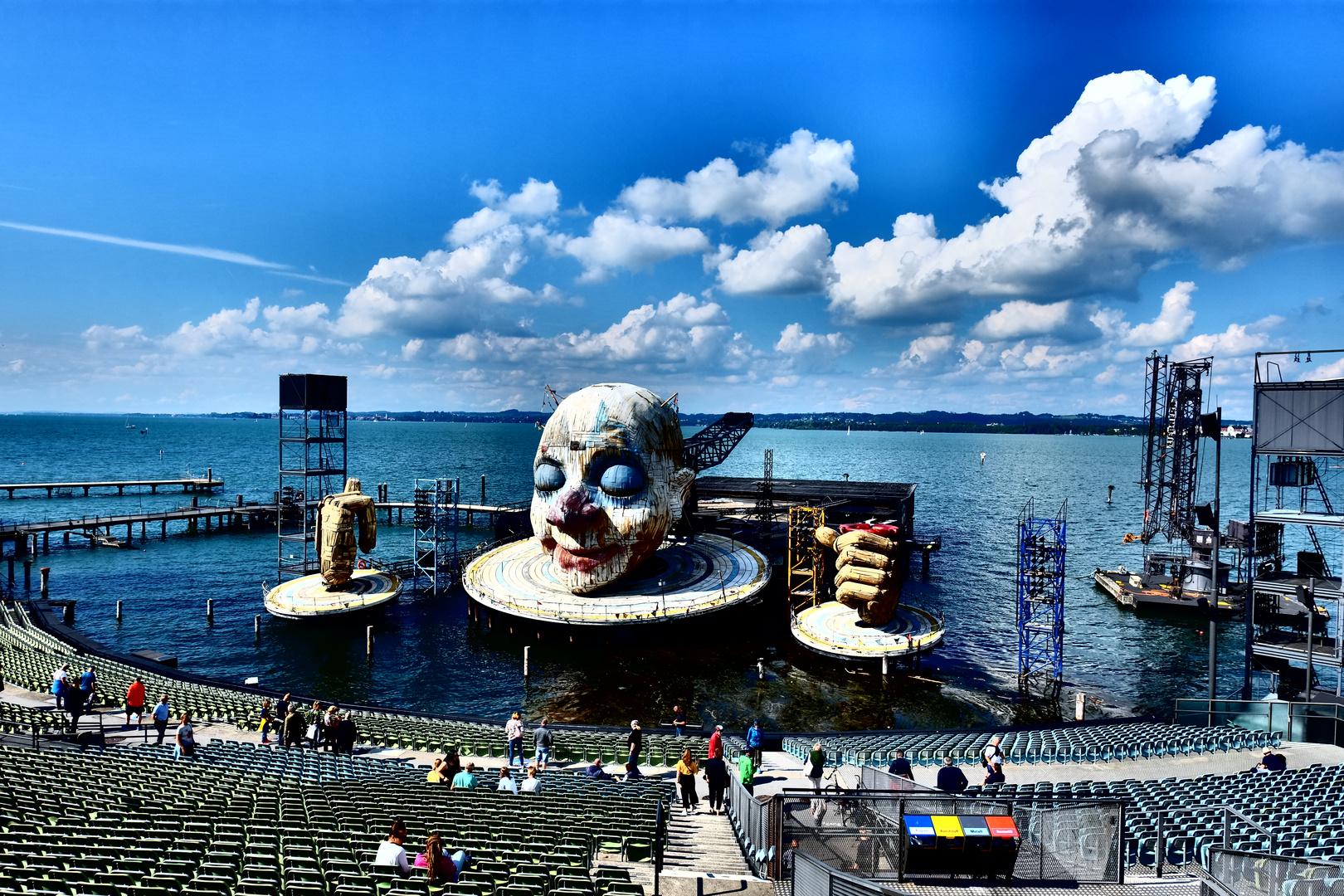 (3) Visite du lac de Constance: Le Festival de Bregenz: Rigoletto, de Giuseppe Verdi