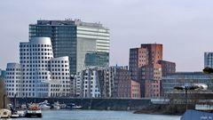 3 x Gehry + 1 x Staatskanzlei + ein wenig WDR