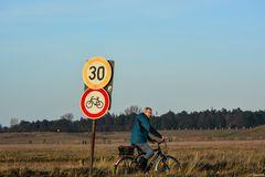 30 Fahrräder - ich seh' nur 1