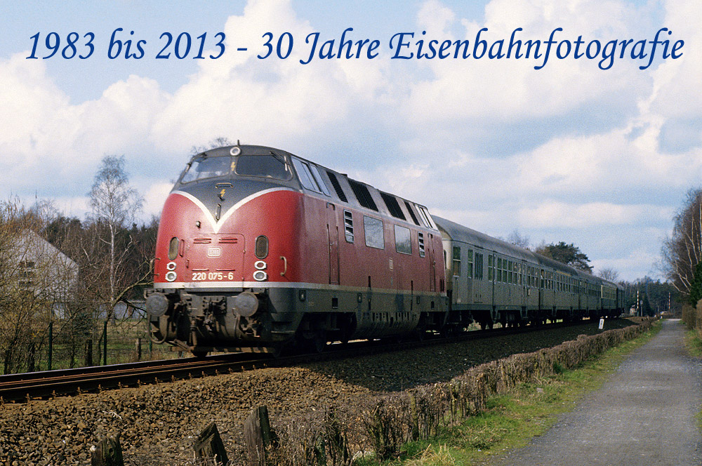 30 Jahre Eisenbahnfotografie...