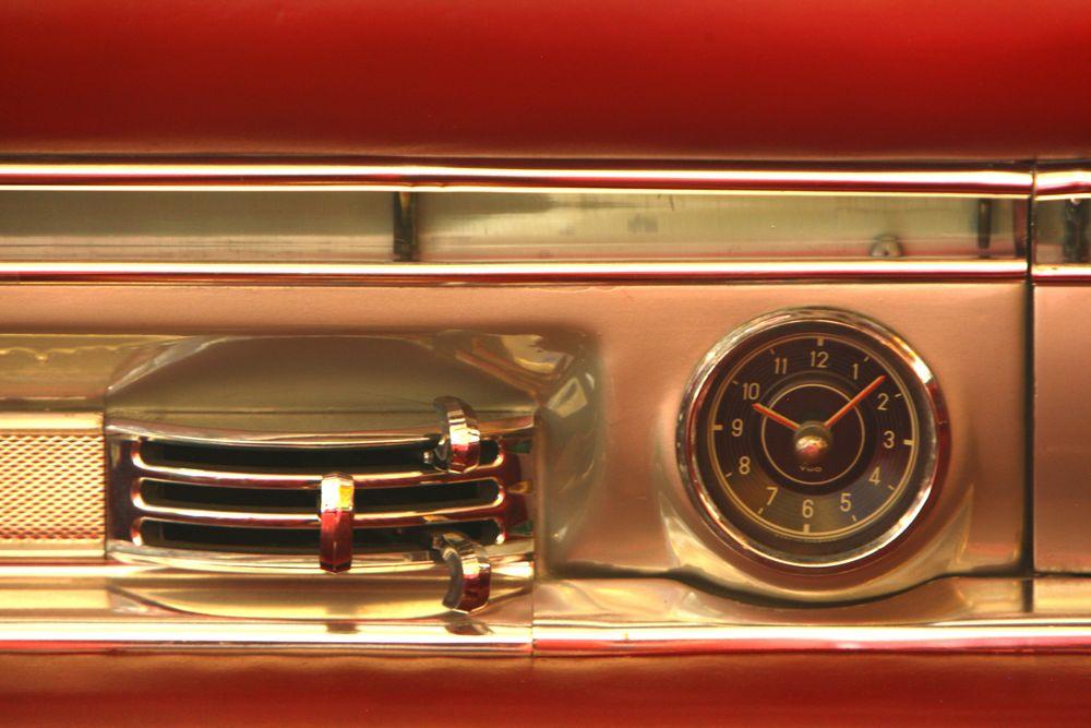 300 SL - Lüftung Uhr