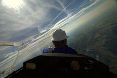 3000m über Thüringen
