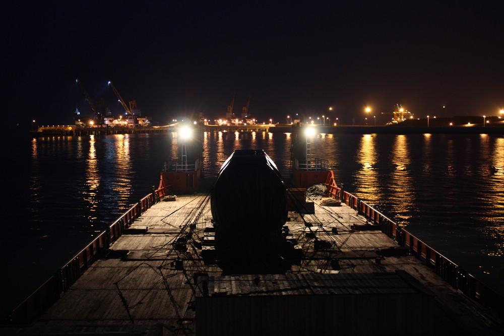 306 Tonnen Trafo