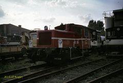 332 109 im Bw Krefeld 1996