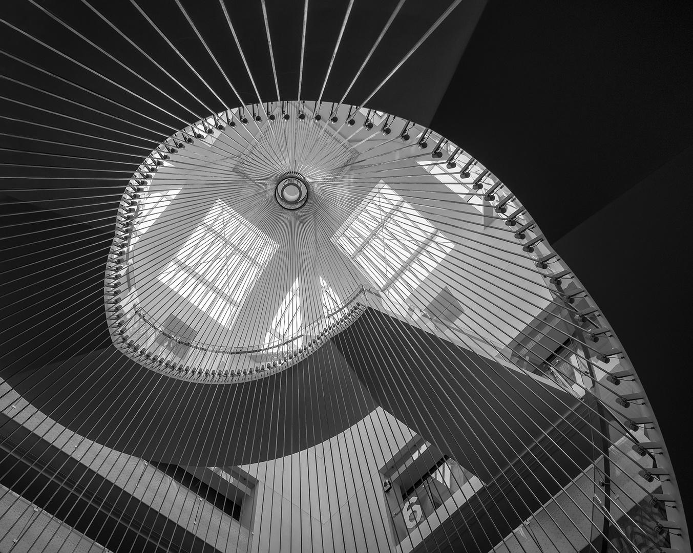 Treppenhaus architektur detail  3342R Treppenhaus Detail Nationalbibliothek Universität Strassburg ...