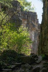 34-Hessigheimer Felsenharten - Bedeutende Felsformationen und Naturklettergarten