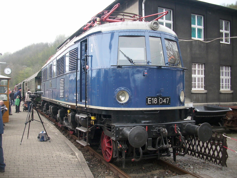 35 Jahre Eisenbahnmuseum Bochum/ E 18 047