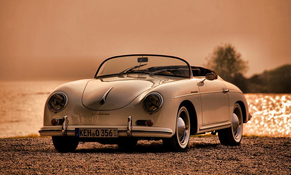 356 Speedster in Italien