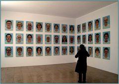 39 Portrait`s und 1 Betrachterin