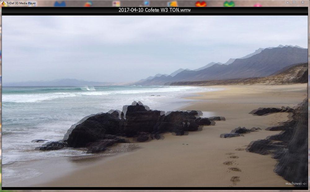 3D Diaschau Fuji W3: Fuerteventura Barlovento -Cofete