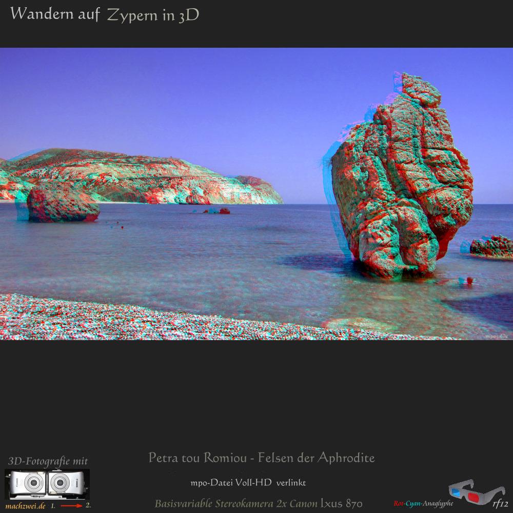 3D-Diaschau in Side-By-Side VollHD UND als Anaglyphenfilm (für alle).