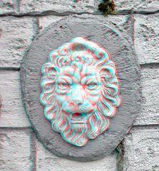 3D Löwenkopf