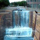 3d Wasserfall in Wilhelmshaven