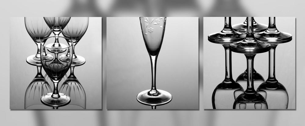 3er Serie Gläser