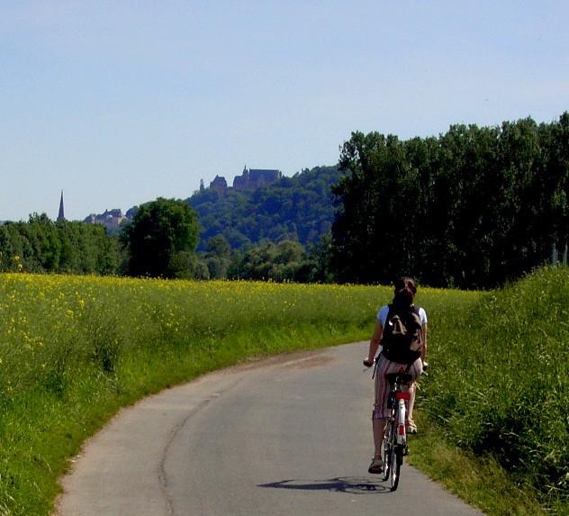 3km bis Marburg