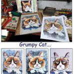 3x Grumpy Cat