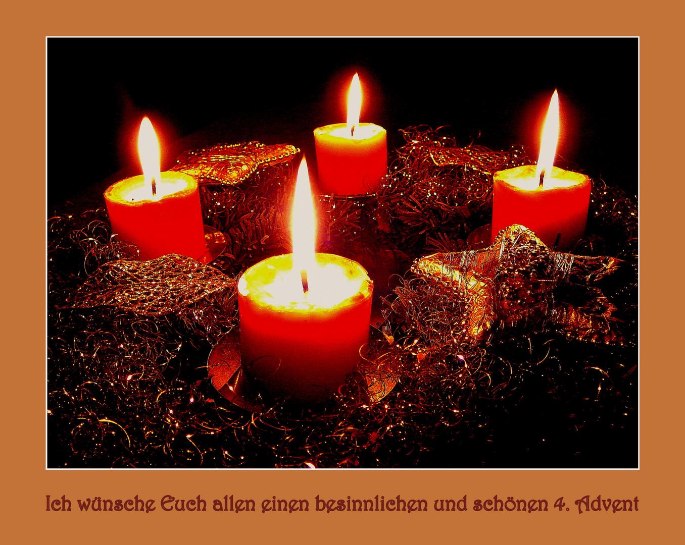 4 Advent Bilder